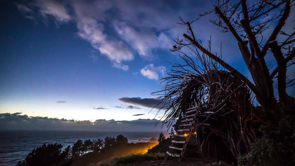 human nest big sur california