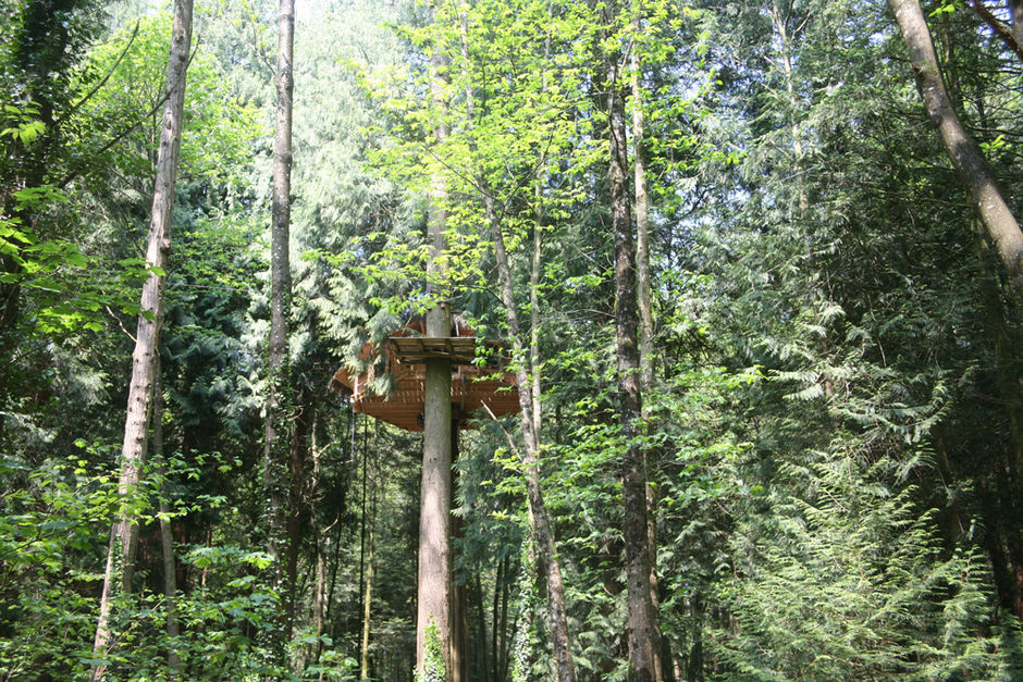 les ormes glamping treehouses