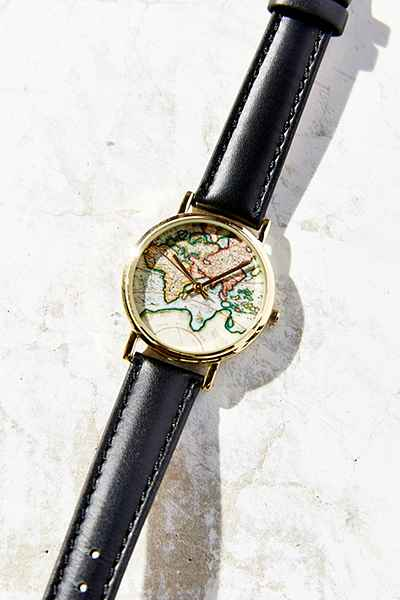 travelling gits watch around the world urban outfitters