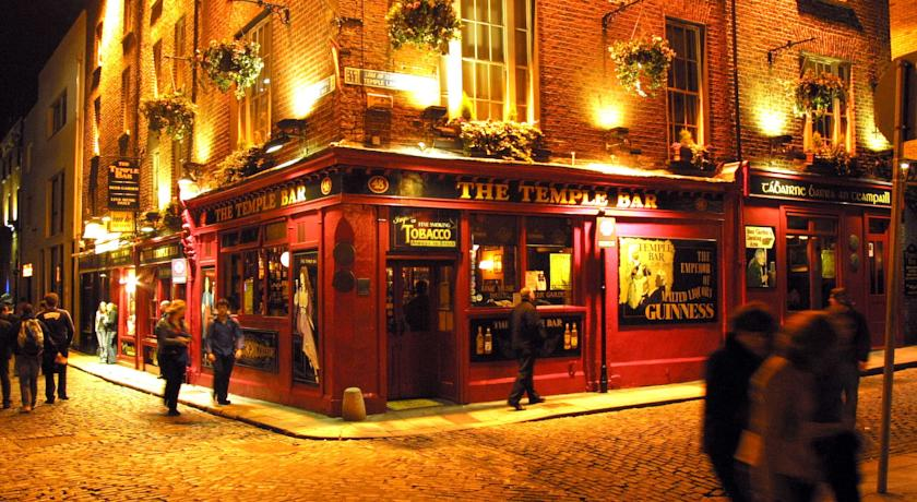 The Temple Bar makes for great cheap accommodation.