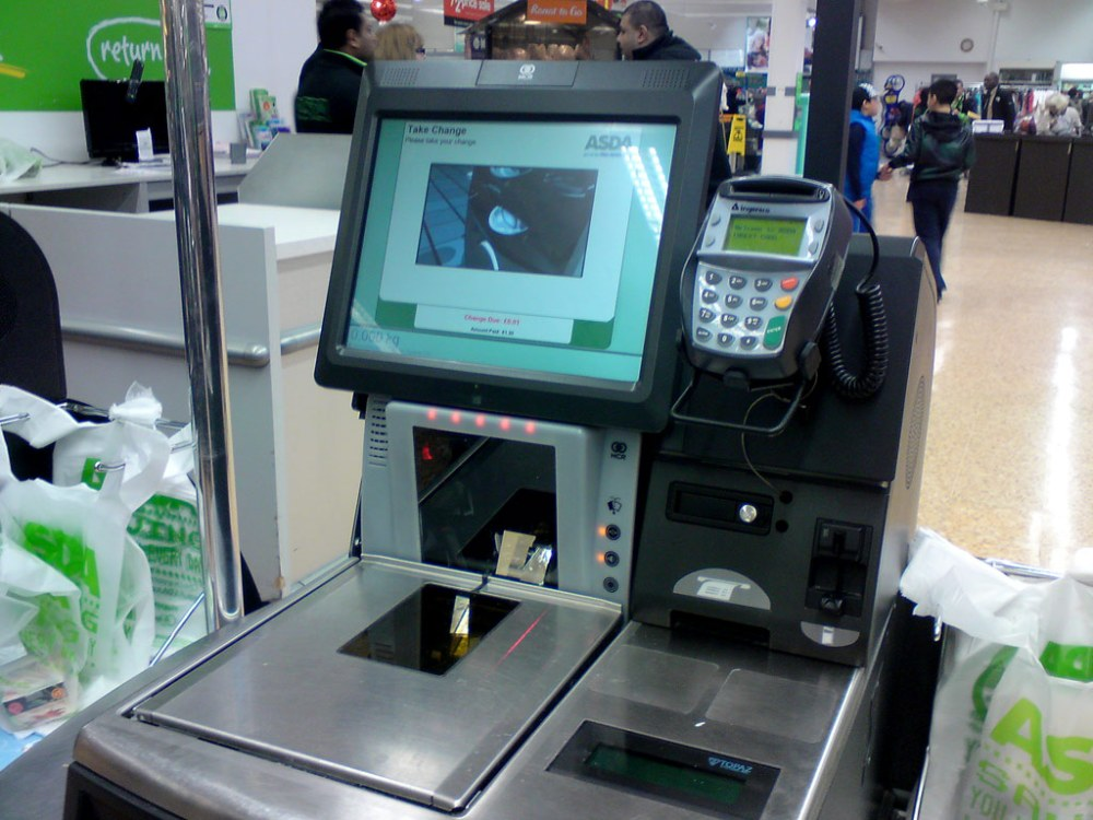 asda self check out