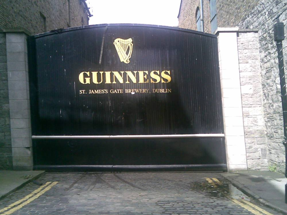 Take a trip to the Guinness factory on your weekend away.